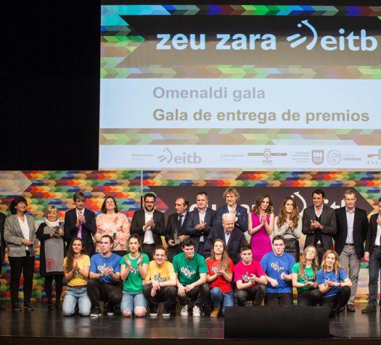 Entrega de Premios Zeu Zara EiTB Irun